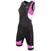 Costum Trisuit Femei with Front Zipper