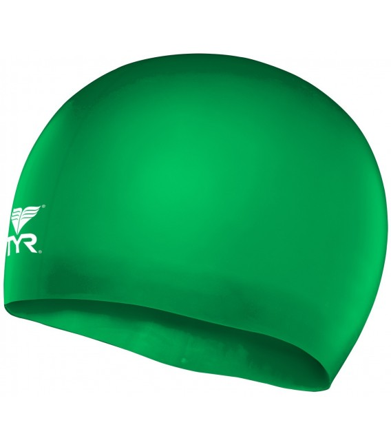 WRINKLE FREE JR. SILICONE SWIM CAP