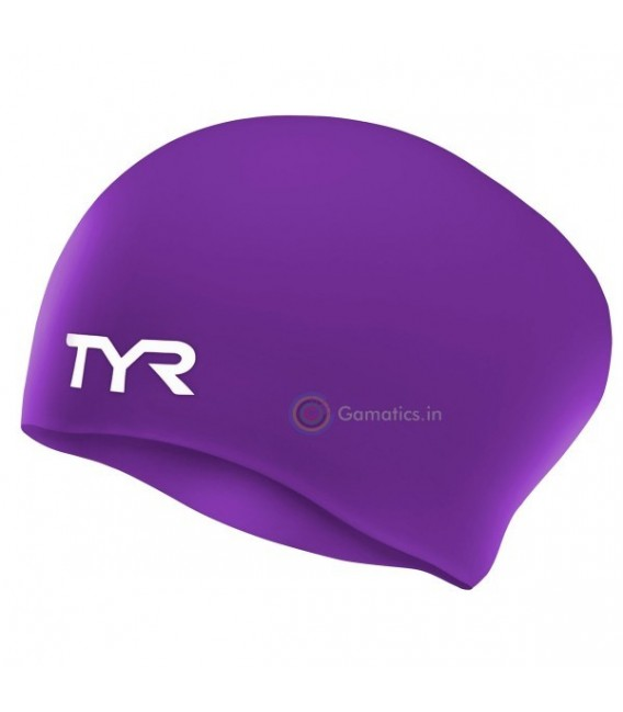 LONG HAIR WRINKLE-FREE SWIM CAP