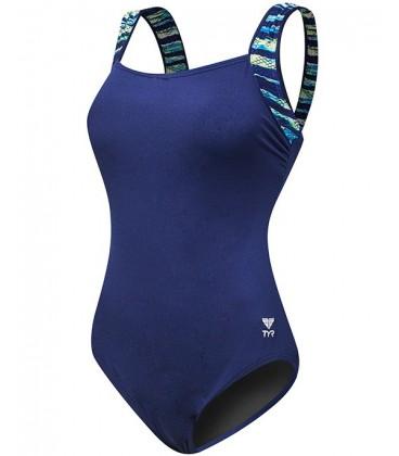 Bellvue Stripe Aqua Controlfit