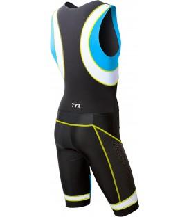Trisuit Competitor w/pad cu fermoar in fata