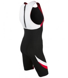 Mens Carbon Tri suit back zip