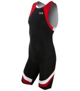 Mens Carbon Trisuit back zip