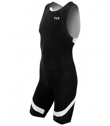 Mens Carbon Trisuit back zip
