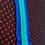 630 Negru/Verde/Albastru